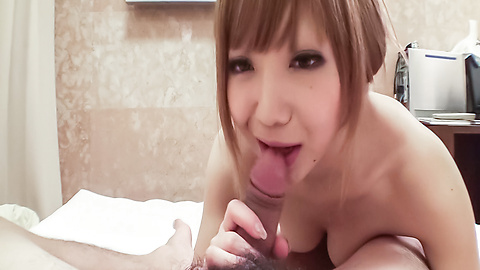 Minami - Minami MILF with more than a mouthful for a japan blowjob - Picture 7
