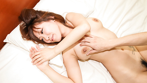 Asami Uemura - Big tittted Asami Uemura fucked after an asian blow job - Picture 8