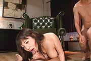 Busty Azusa Nagasawa Sucks Dick Like A Pro Photo 7