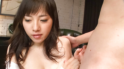 Azusa Nagasawa - หน้าอกใหญ่ให้ blowjob เอเชีย Babe ซึนางาซาวะ -  6 รูปภาพ