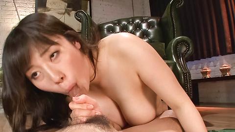 Azusa Nagasawa - หน้าอกใหญ่ให้ blowjob เอเชีย Babe ซึนางาซาวะ -  8 รูปภาพ