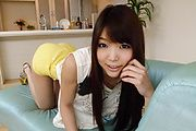 Hot Anal Creaming After Megumi Shino's DP Sex Photo 1
