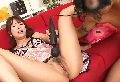 Hinata Tachibana japanese girl squirting and getting facials