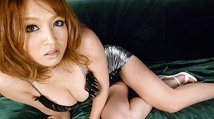 Curvy asian milf Yuki Touma rides his cock wonderfully
