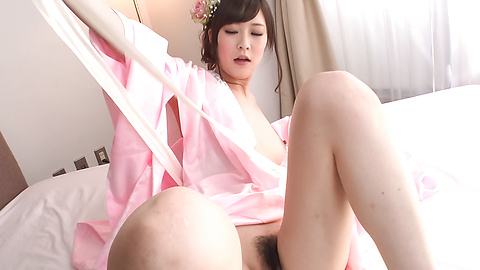 Kotone Amamiya - Cock sucking Asian girl caught on cam during group sex - Picture 12