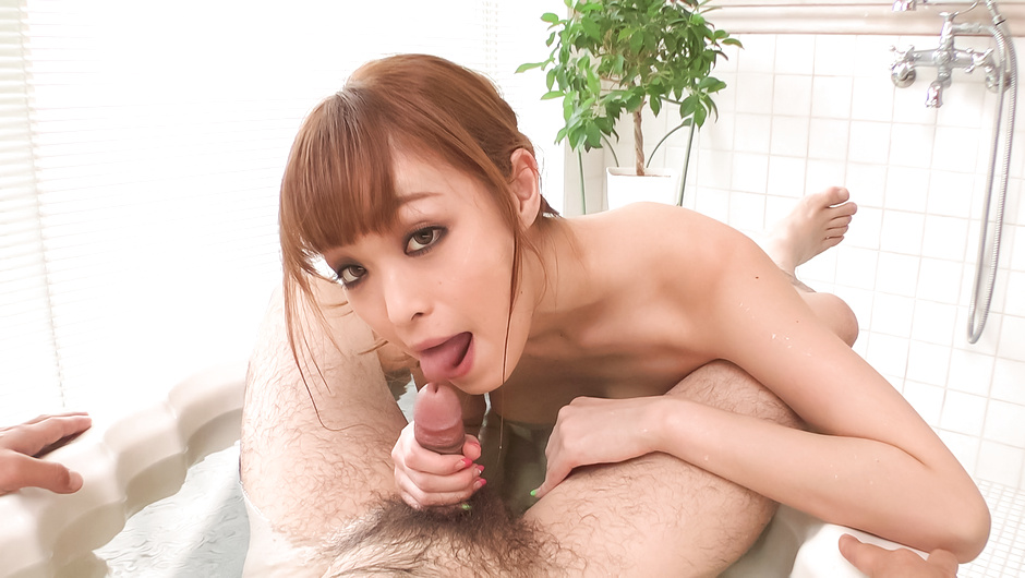Supreme POV Asian blowjob with Mikuru Shiina