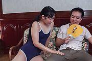 Top Japanese blowjob along sweet assYui Kasugano Photo 1