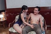 Top Japanese blowjob along sweet assYui Kasugano Photo 3