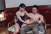 Top Japanese blowjob along sweet assYui Kasugano Photo 4