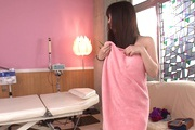 Big Titted Teen Chinatsu Kurusu Fucks After A Massage Photo 4