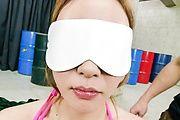 Mio Kuraki gives japanese blowjobs and gets a facial Photo 5
