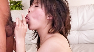 Horny Babe Kyouka Mizusawa Takes Cock And Cum Balls Deep