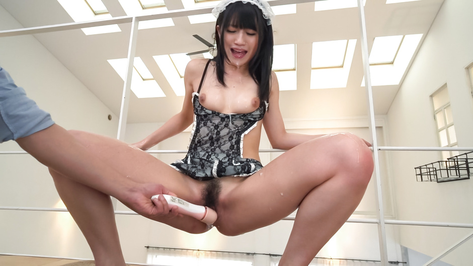Sexy Japanese squirting scenes by hot ass Reo Saionji