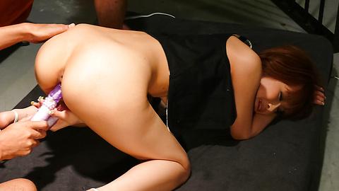 Misa Kikouden - Misa Kikouden blow job asian panas mengarah ke threesome seks - gambar 12