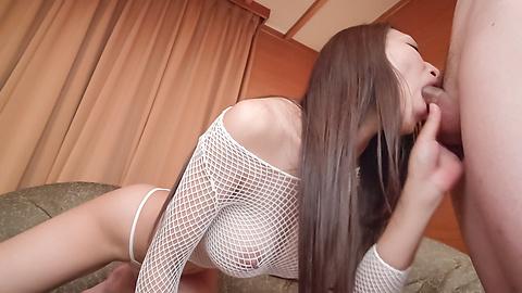 Reiko Kobayakawa - Japan blowjob on two dicks withReiko Kobayakawa - Picture 7