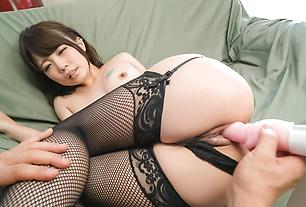 Japanese maturbate video withYura Kurokawa