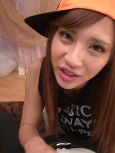 Anna Anjo - Anna Anjo Japanese blowjob in POV scenes - Screenshot 1