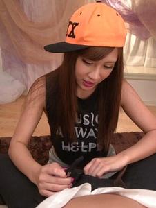 Anna Anjo - Anna Anjo Japanese blowjob in POV scenes - Screenshot 8