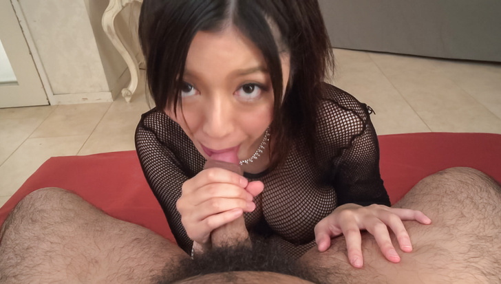 Stunning POV Asian blowjob with Miho Ichiki