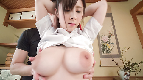 Mitsuki Akai - Asian with big dildo enjoying facial ending  - Picture 6