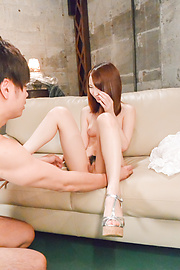 Rika Anna - Rika Anna perfect Japan blow job before sex  - Picture 7