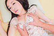 Mao Sena - Asian creampie porn scenes along brunette Mao Sena - Picture 1