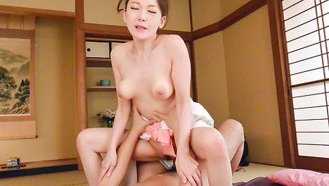 白襦袢美熟女~極上フェラプレイ