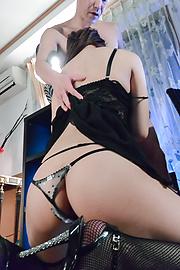 Yukina Saeki - ญี่ปุ่น blowjob รุนแรงทางเพศตามยูกินะ ซาเอกิ -  5 รูปภาพ