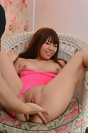 Chisa Hoshino - Tight Chisa Hoshino fucked in both her shaved holes  - Picture 9