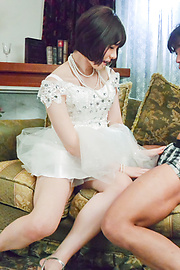 Airi Miyazaki - Bride to be enjoys one last hardcore fuck  - Picture 12