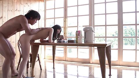 新山沙弥 - モーニングハードコア中出しセックス - Picture 7