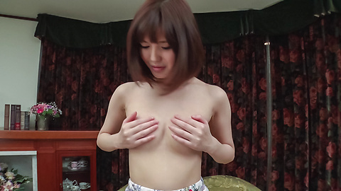 Yua Ariga - Adorable Yua Ariga amazes with pure Asian blowjob  - Picture 10