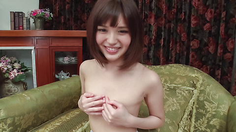 Yua Ariga - Adorable Yua Ariga amazes with pure Asian blowjob  - Picture 12