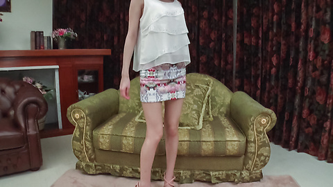 Yua Ariga - Adorable Yua Ariga amazes with pure Asian blowjob  - Picture 1