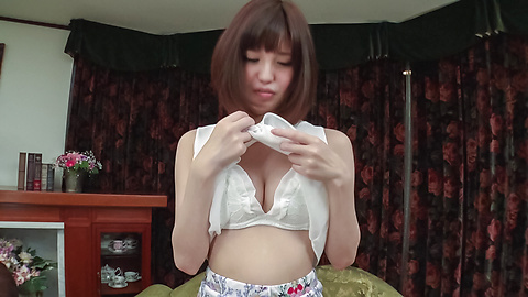 Yua Ariga - Adorable Yua Ariga amazes with pure Asian blowjob  - Picture 7