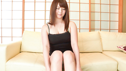 Yui Nishikawa - Yui Nishikawa plays with the pussy in slow solo  - Picture 7