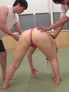 Yui Nishikawa - Busty Asian babe delights with a group of men  - Screenshot 5