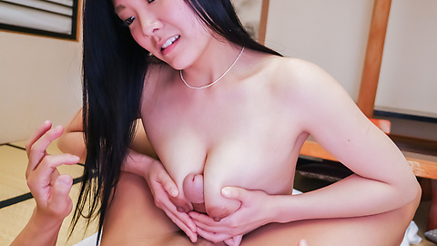 Mio Kuroki - Mio Kuroki amazing cock sucking and heavy sex - Picture 10