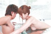 Soapy XXX experience along superb Yui Hatano Photo 8