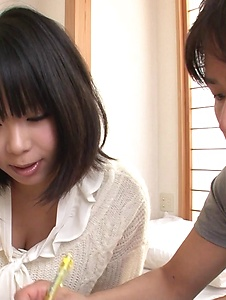Mikan Kururugi - Smashing Mikan Kururugi Japanese blow job and sex  - Screenshot 2
