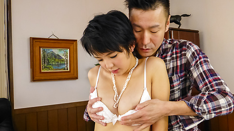 Sakura Aida - Japan blowjob with amazing babe Sakura Aida  - Picture 1