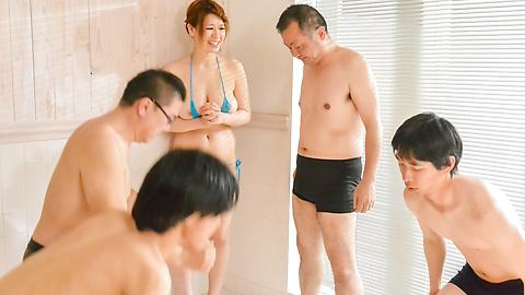 Suzuna Komiya - Asian blow job in advance to harsh sex withSuzuna Komiya - Picture 2