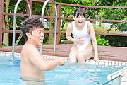 春日野結衣 - 春日野結衣~水中&野外ファック - Picture 3