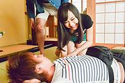 Mayu Kawai amazes wirth her Asian blowjob skills Photo 10