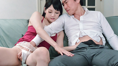 Rei Mizuna - Asian blow jobs for the perfect Rei Mizuna - Picture 2