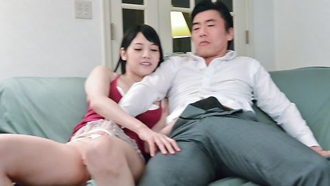 Rei Mizuna - Asian blow jobs for the perfect Rei Mizuna - Picture 3