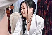 Big tits milf plays with young cock in sloppy modes  Photo 4