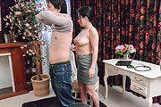 Big tits milf plays with young cock in sloppy modes  Photo 7