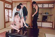 Tsubasa Takanashi provides Asian blowjob in top modes Photo 10