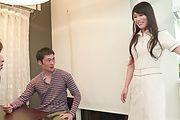 Horny Nana Nakamura provides special Asian blowjob  Photo 2